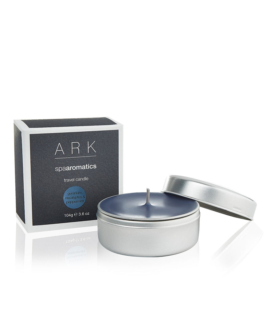 Geranium, Eucalyptus & Peppermint Travel Candle - ARK Skincare