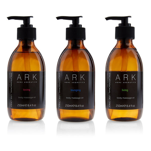 3 FOR 2 OFFER - PROFESSIONAL Massage Oil Trio - ARK Skincare