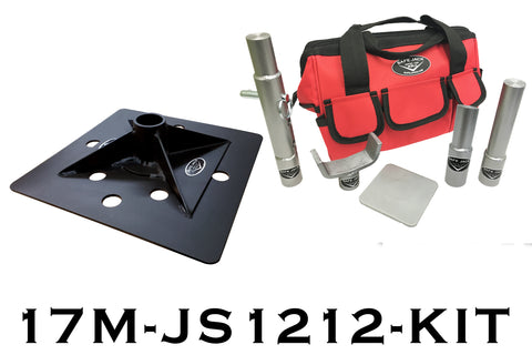 "12"" x 12"" Compact Jack Stand Kit"