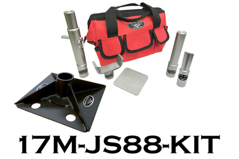 "8"" x 8"" Compact Jack Stand Kit"