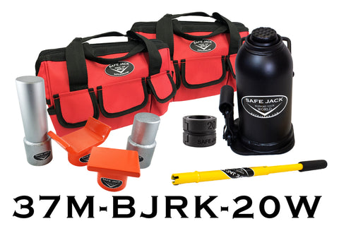 Bottle Jack Recovery Kit With 20 Ton Bottle Jack