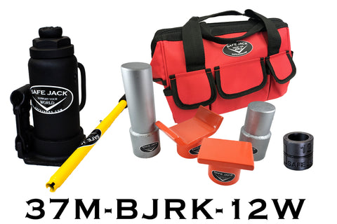 Bottle Jack Recovery Kit With 12 Ton Bottle Jack