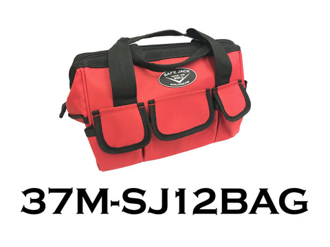 "12"" Heavy Duty Safe Jack Canvas Bag"