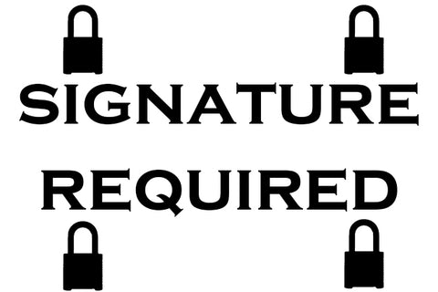 Add signature required for shipping