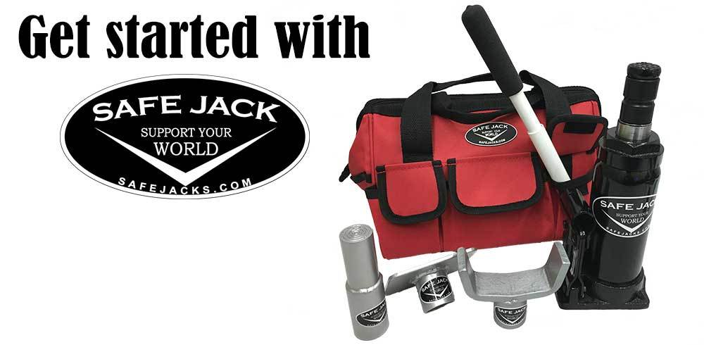 Safe Jack Bottle Jack Recovery Kit
