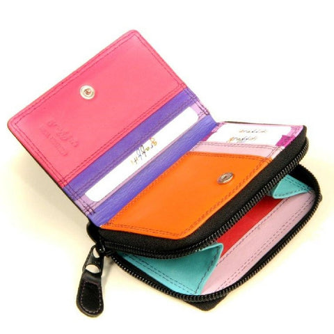 Leather Coloured Coin Purse Card Wallet - Just4ugifts Limited - 1