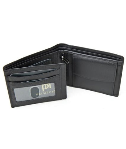Quality Primehide Black Leather Wallet - Just4ugifts Limited - 1