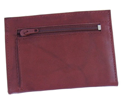 Tan Leather Credit Card Holder 20 Cards - Just4ugifts Limited - 1