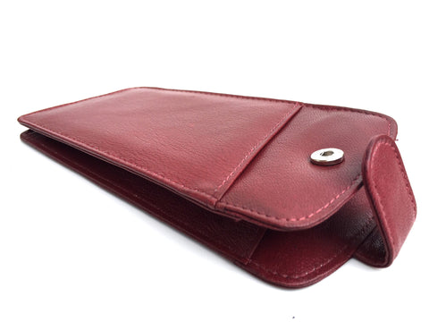 Red Leather Glasses Case - Just4ugifts Limited - 1