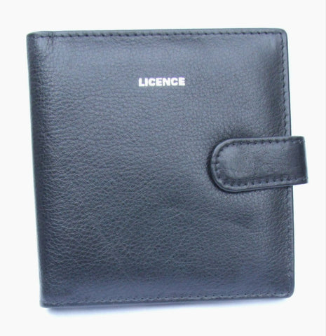 Black Leather Driving License Cover - Just4ugifts Limited - 1