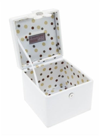 Ivory Cream Flower Jewellery Box - Just4ugifts Limited - 1