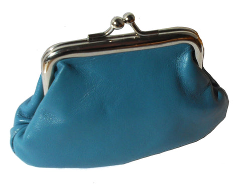 Small Pouchy Clip Top Coin Purse - Just4ugifts Limited - 1