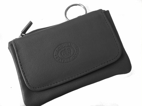 Small Leather Key Holder Coin Purse - Just4ugifts Limited - 1