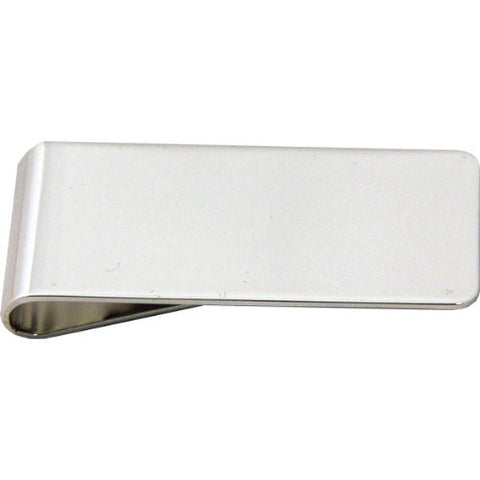 Silver Plated Money Clip - Just4ugifts Limited - 1