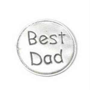 Best Dad Pewter Palm Keepsake Token - Just4ugifts Limited