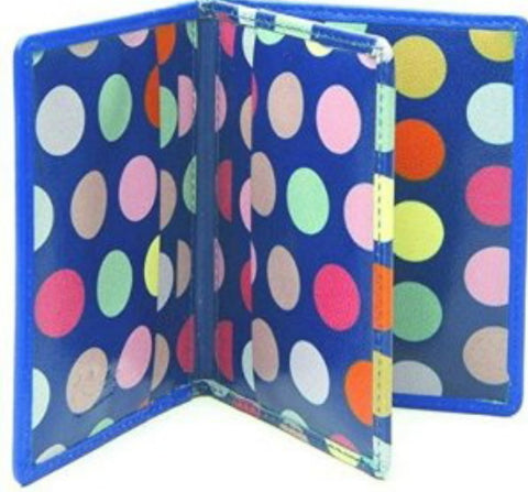 Dotty Blue Credit Card Holder - Just4ugifts Limited - 1
