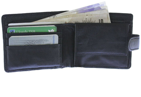 Soft Leather Black Wallet - Just4ugifts Limited - 1