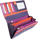 Golunski Large Multi Coloured Wallet Purse - Just4ugifts Limited - 5