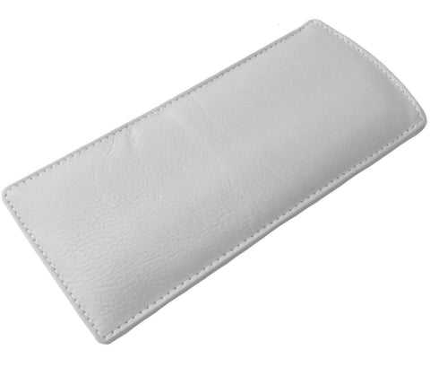 Grey Slim Soft Leather Spectacle Case - Just4ugifts Limited
