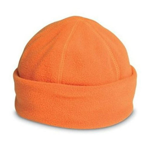 Polar Fleece Hat Orange - Just4ugifts Limited - 1