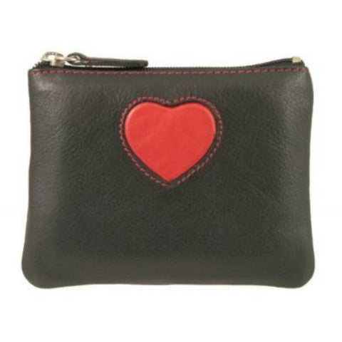 Love Heart Leather Coin Purse - Just4ugifts Limited - 1