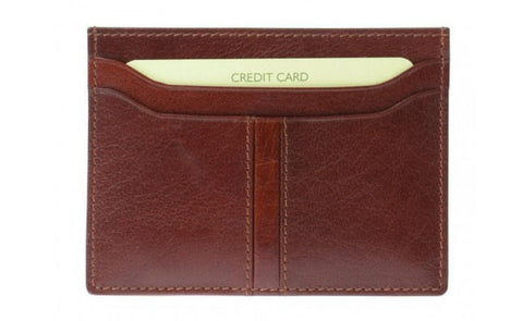 Double Sided Tan Credit Card Holder - Just4ugifts Limited