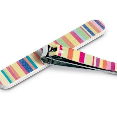 Colourful Manicure Set Nail File Clippers - Just4ugifts Limited - 1