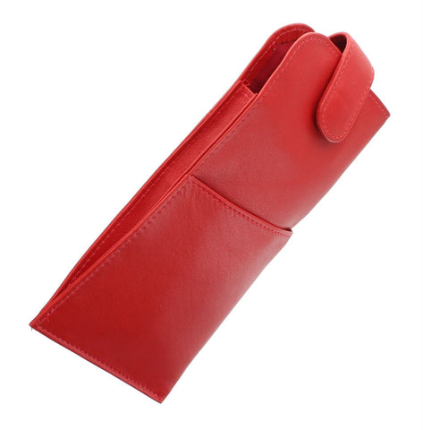 Red Quality Leather Glasses Case - Just4ugifts Limited - 1