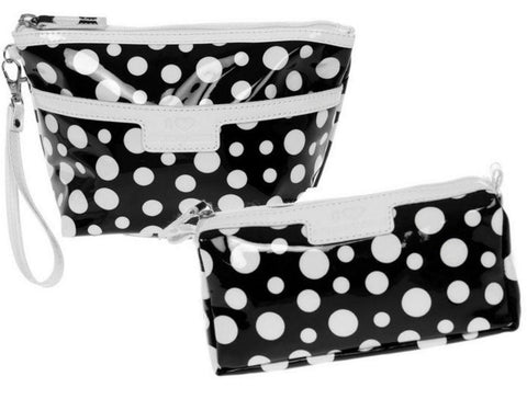 Black Polka Dot Toiletry Bag Set - Just4ugifts Limited - 1