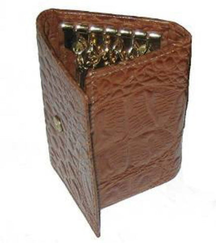 Tan Keyholder Case - Just4ugifts Limited - 1