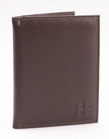 Brown Leather Credit Card Holder - Just4ugifts Limited
