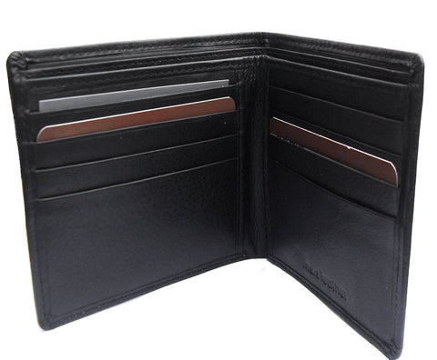 RFID Black Leather Card Wallet - Just4ugifts Limited - 1