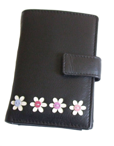 Flower Credit Card Holder Note Wallet - Just4ugifts Limited - 1