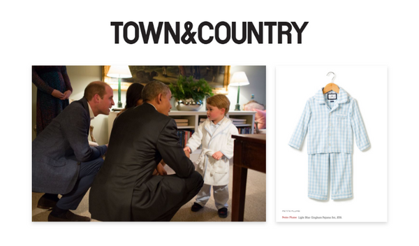 Petite Plume in Town & Country