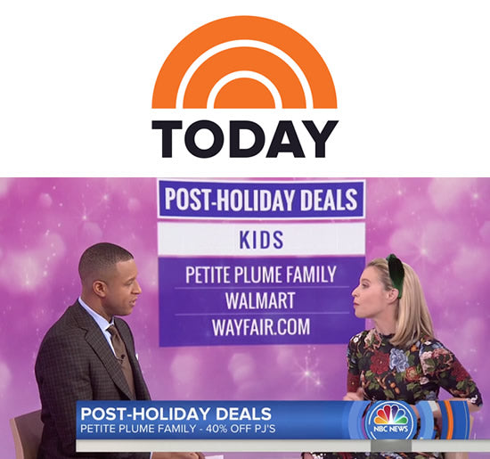 Petite Plume Featured on Today Show