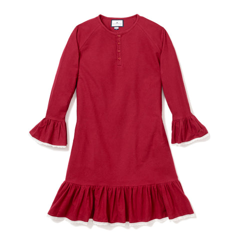 Arabella style Nightgown in Burgundy - Adult