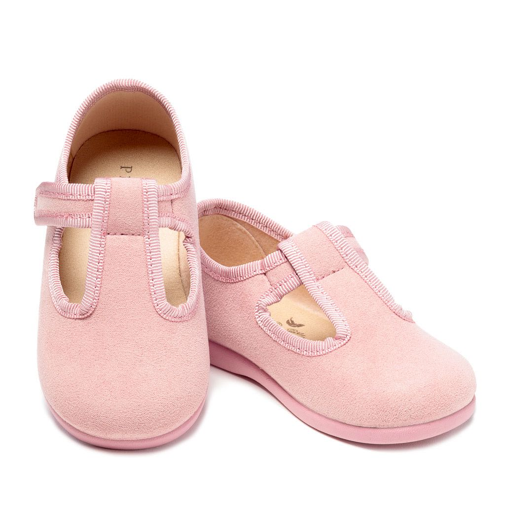 The Everly Slipper in Pink Suede