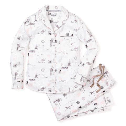 Women's Paris Musings Pajama Set