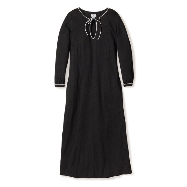 Luxe Pima Cotton Dark Heather Harlow Nightgown
