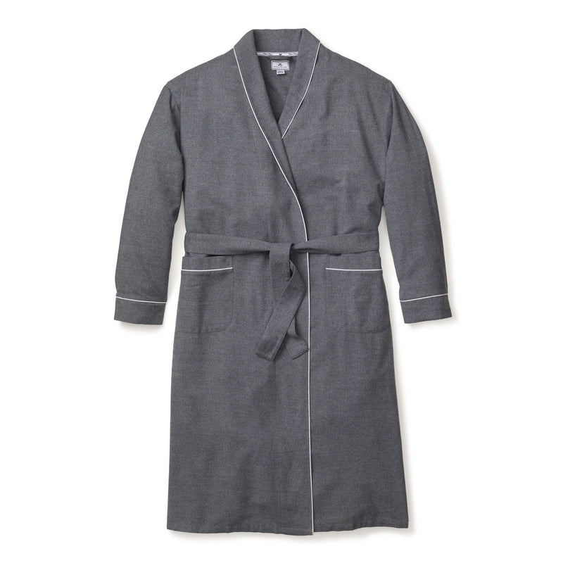 Women's Grey Flannel Robe