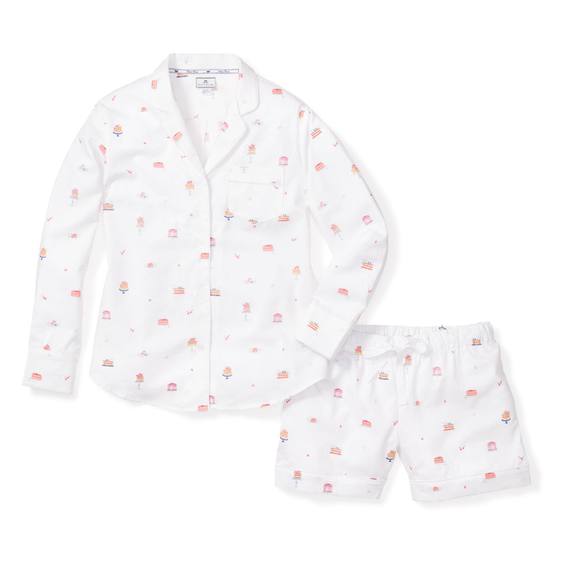 Women's Desserts Long Sleeve Short Set
