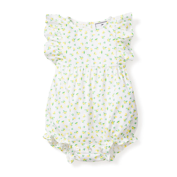 Citron Ruffled Romper