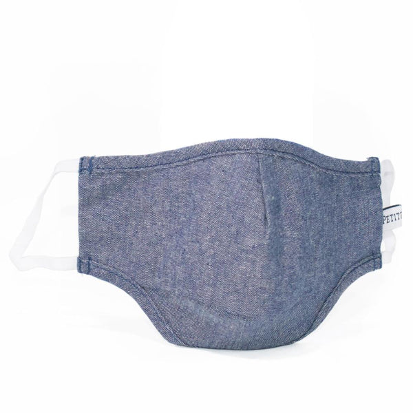 Chambray Oxford Face Mask