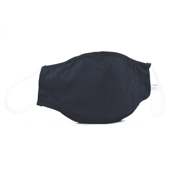 Children's Navy Twill Face Mask