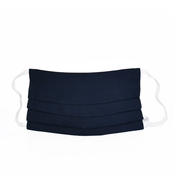 Accordion Face Mask Navy