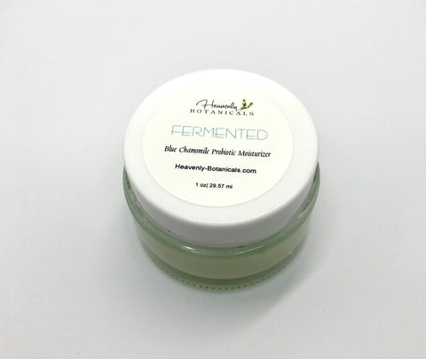 FERMENTED, Blue Chamomile Moisturizer,  Probiotic Face Cream