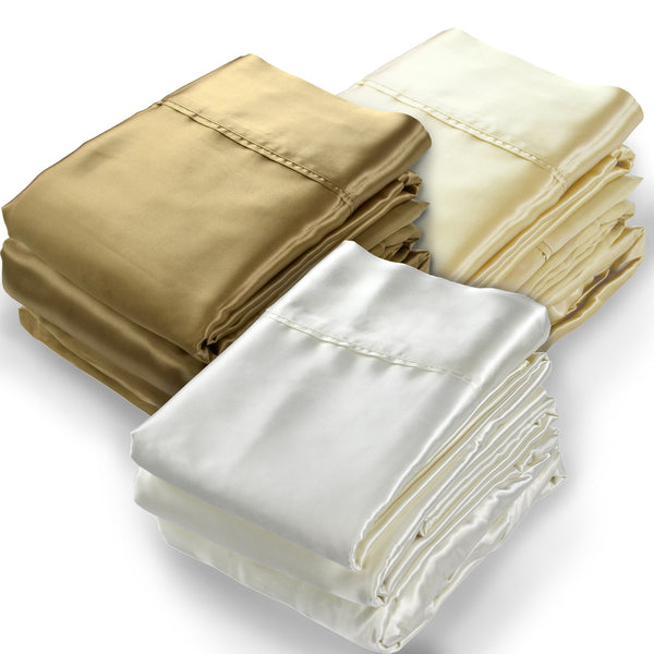 Silk Charmeuse Sheets Set