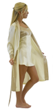 Silk Mid-length Robe and/or Slip - Classic Ivory Taupe