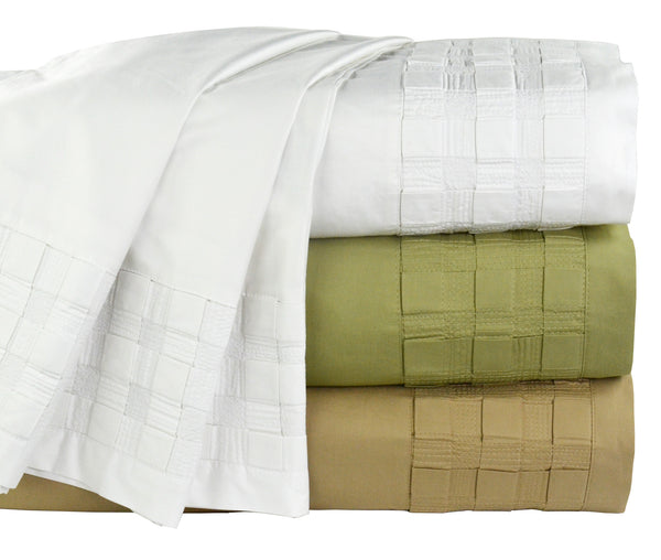 Sateen Woven Cotton/Rayon of Bamboo Sheet Set