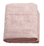 530tc Cotton & Silk Jacquard Woven Bed Linens - Floral Design